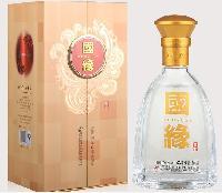 上海白酒经销商/国缘2开价格/42度婚宴用酒2开批发