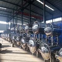 半自动热水循环豆制品式杀菌锅、大型工厂用杀菌釜