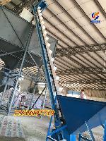 移动式粮食喂料机 建筑粉料提升设备y6