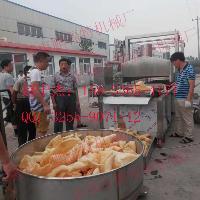 供应猪皮油炸生产线多少钱   山东  油炸设备