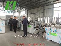 生产豆腐皮的机器 仿手工豆腐皮机子 自动豆腐皮机设备