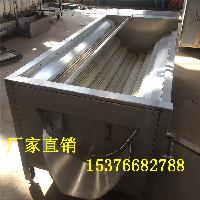 厂家直销胡萝卜毛辊清洗机 莲藕清洗机 优质304不锈钢制造