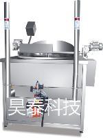 燃气加热油炸线单机 HT-YZ-1000