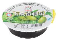 橄榄菜一出六气调包装机真空封碗包装机