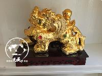 金色貔貅陶瓷酒瓶礼盒带底5斤五斤定制批发景德镇厂家发货
