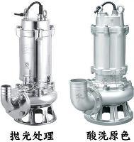 冬季污水处理专用不锈钢500QW潜水污水泵