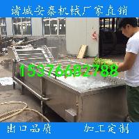 专业生产蔬菜清洗机 高压气泡喷淋清洗机