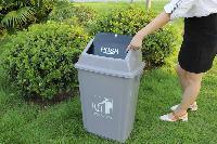 四川成都塑料摇盖垃圾桶厂家