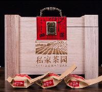 福建乌龙茶武夷山岩茶木质礼盒装