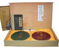 老班章普洱茶双饼礼盒