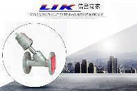 进口法兰气动角座阀|原装进口气动角座阀|德国莱克LIK品牌