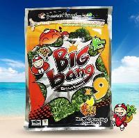 泰国进口小老板big bang大片紫菜烤海苔54g多口味即食休闲零食品