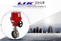 进口电动开关蝶阀中国总代理-德国莱克LIK品牌