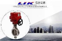 进口不锈钢防爆电动蝶阀中国办事处-德国莱克LIK品牌