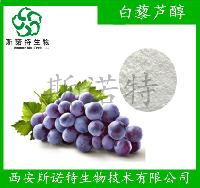 白藜芦醇98%  葡萄皮提取物 斯诺特厂家