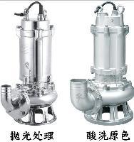 不锈钢耐腐蚀污水泵