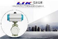 莱克进口气动衬氟蝶阀中国总代理-德国莱克LIK品牌