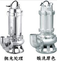 防缠绕潜水式污水泵-不锈钢排污泵-潜水污水泵