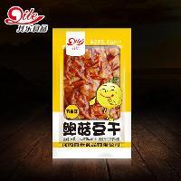 其乐香菇豆干鲍菇豆干 香辣味五香味豆干 小包装豆干