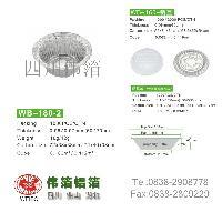 WB-180煲仔饭铝箔碗;外卖铝箔碗