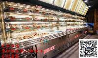 签王同款展示柜,喷雾菜品保鲜柜,定做明档后补式点菜柜