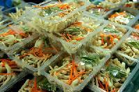 净菜配送盒式保鲜包装机蔬菜水果