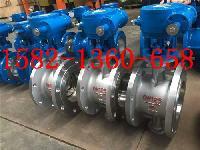 D343W-16P、16RL不锈钢蜗轮硬密封法兰蝶阀DN150