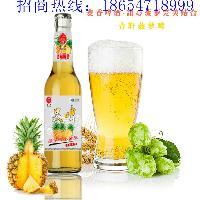 菠萝啤厂家招商 青岛青轩啤酒果啤招商