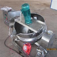 炒年货设备 不锈钢电加热夹层锅 环保燃料
