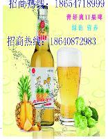 青岛青轩果啤塑包啤酒招商加盟