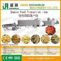 早餐谷物膨化机食品生产线