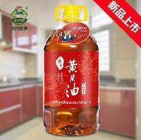 遂宁黄菜油小榨浓香四川菜籽油批发菜籽油