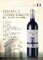 法国凯旋门歌达美景古堡干红葡萄酒