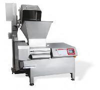 大型全自动鲜肉切丁机、全自动牛肉切丁机