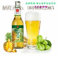 青岛青轩啤酒菠萝啤招商加盟