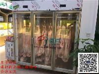 自助烤肉火锅烧烤挂肉展示冷柜,2.4米/2米一排/两排定做