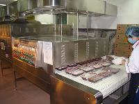 亚运会-冷链盒饭加热设备|冷链盒饭微波复热设备