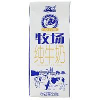 欧亚牧场纯牛奶_全脂浓醇优质健康食品