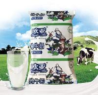 欧亚袋装纯牛奶_健康优质奶饮食品