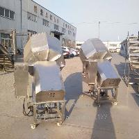 供应鹏福特水晶花生拌料桶  不锈钢拌料桶厂家 山东 清洗设备