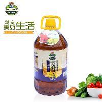 四川菜籽油厂遂宁浓香黄菜籽油菜籽油厂家直销