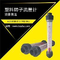 管道式转子流量计液体PVC管塑料浮子流量计上海厂家