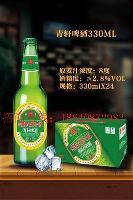 青岛青轩啤酒青岛清爽啤酒招商加盟河南安阳