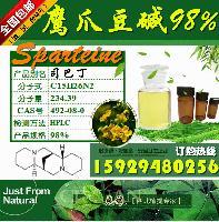 鹰爪豆碱98%  (+)Sparteine CAS号492080