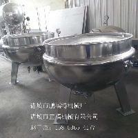 供应500L蒸汽加热蒸煮锅 蒸煮夹层锅厂家 山东 蒸煮设备