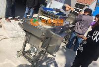 鸡米花裹粉机生产线专业厂家