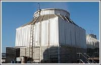 冷水机组与冷却塔