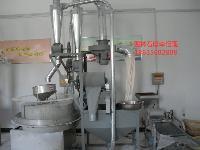 供应半自动玉米黑豆绿豆电动磨粉机 全自动石磨面粉机