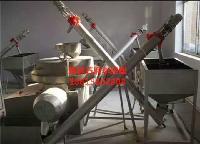 全自动优质电动面粉石磨设备 小麦面粉加工 石磨面粉机组