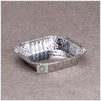 131锡纸盒方形一次性铝箔碗.打包荤菜素菜盒烧烤盒